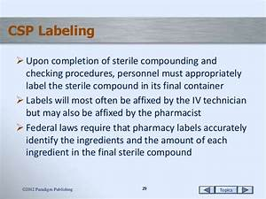 medication orders and labeling With federal prescription label requirements