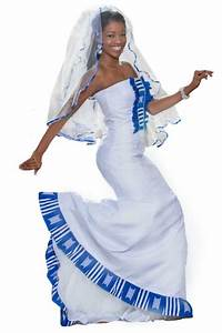 blue and white african wedding dress urs pinterest With white african wedding dress