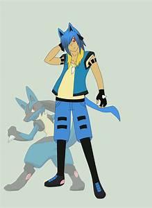 Lucario Gijinka Pokemon Images | Pokemon Images