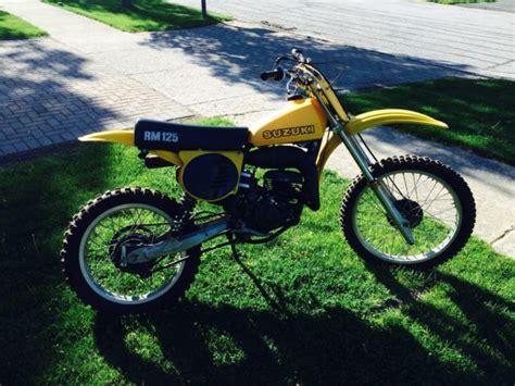 Suzuki Glenview by 1978 Suzuki Rm125 Original Vintage Motocross