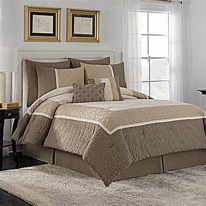 buy vcny holden full comforter set in taupe from bed bath With best comforter bed bath and beyond