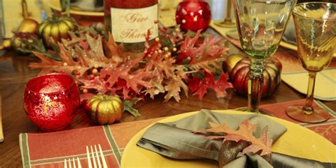 gorgeous ways    thanksgiving table sparkle
