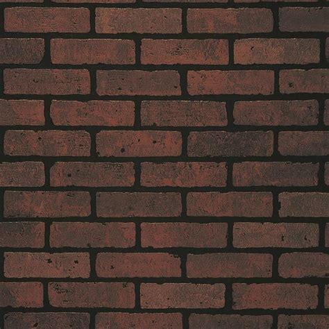 Shop 4775in X 798ft Embossed Red Brick Hardboard Wall