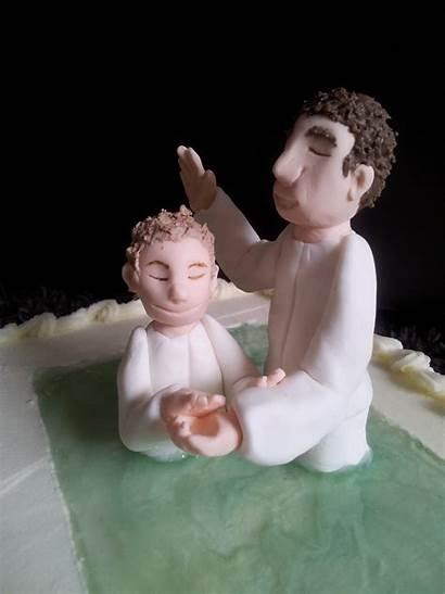 Baptism Cake Water Lds Coloring Kiddles Bits