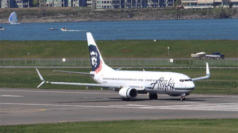 *rare* Alaska Airlines Boeing 737-800 Split Scimitar