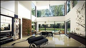 amazing of gallery of modern house interior wip by diego 6767 With interior design of a modern home