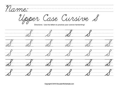 cursive writing worksheets capital how to do a capital i