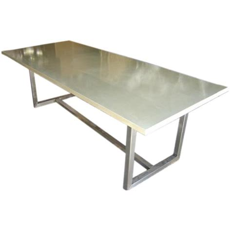 kitchen stainless steel tables dining table set  top remodel  latvinfo