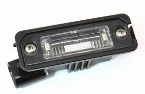 License Plate Lights Lens  U0026 Housing 04