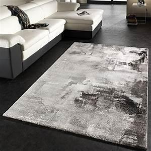 Sektgläser Schwarz Weiß : teppich modern designer teppich leinwand optik grau schwarz weiss meliert gr sse 200x290 cm ~ Watch28wear.com Haus und Dekorationen
