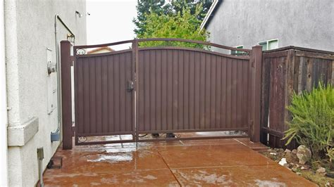 side yard gate ideas wrought iron side yard gates privacy gates sacramento ca