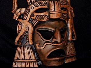 AZTEC WARRIOR MASK.....BING IMAGES | Masks | Pinterest ...