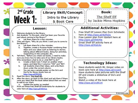 2nd grade lesson plans lessons by