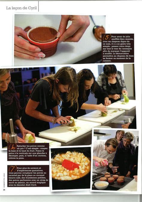cours de cuisine avec cyril lignac cours de cuisine avec cyril lignac 28 images cours de