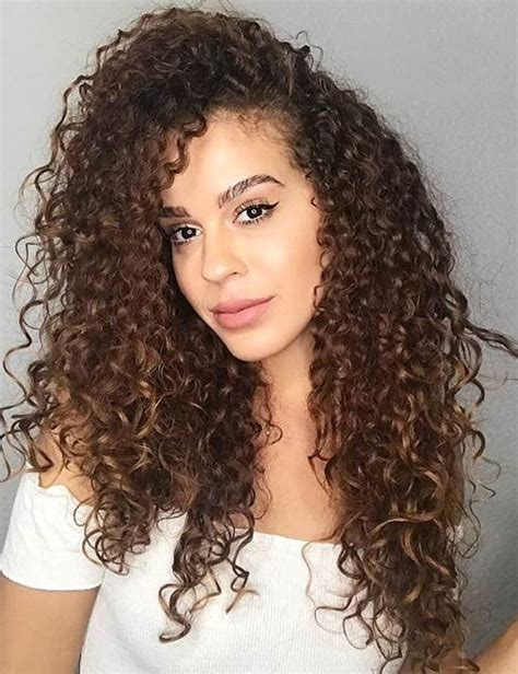 different types of curls curly hair type guide blushery
