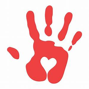 Handprint Clip Art, Vector Images & Illustrations - iStock