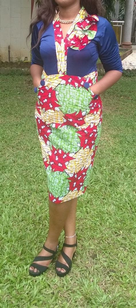 Robe Wax Africain Robe En Pagne Wax Africain N 176 5 Robe Par Afro Peps Proud Africa Fashion