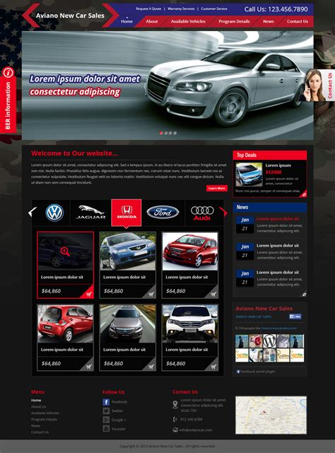Car Designer Website by Modern Serious Web Design For A Company By