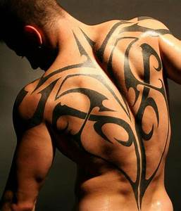 Upper Back Tribal Tattoo Designs| Pictures & Meaning