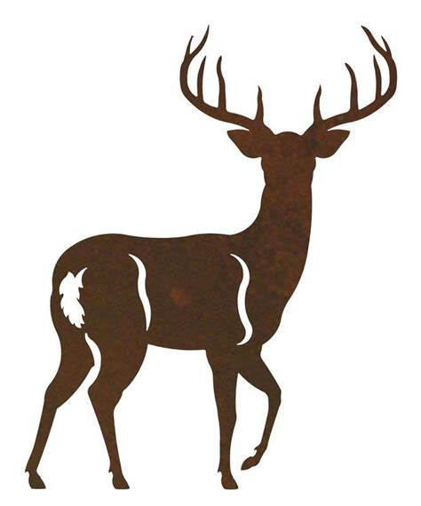 whitetail deer metal curtain rod holders rustic curtain