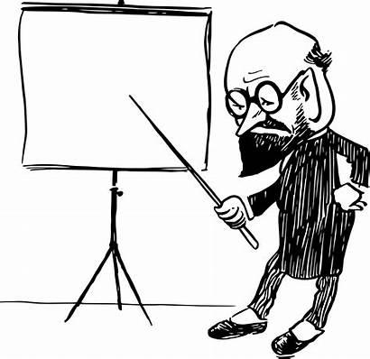 Teacher Professor Drawing Clipart Clipartmag Getdrawings