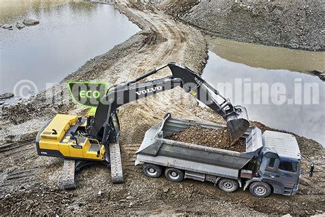 construction equipment volvo construction equipment india