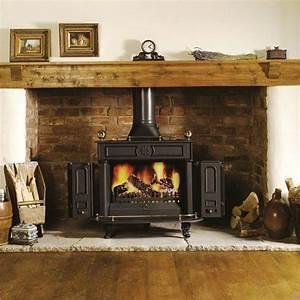 Brick, Fireplace, Ideas, For, Wood, Burning, Stoves