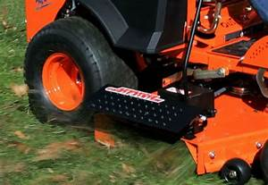 Advanced Chute System Zero Turn Mower Discharge Control
