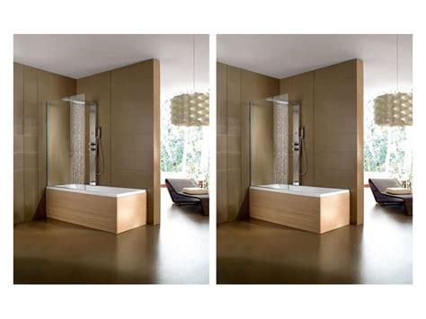 box doccia per vasche da bagno vasca da bagno moderna varie finiture per area benessere