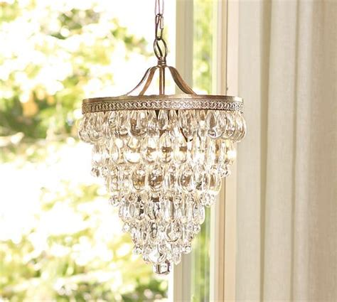 A Glam Chandelier Makes A House A Home + Pottery Barn 20