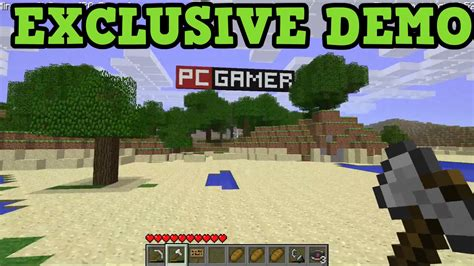 Exclusive Minecraft Beta (pc Gamer Demo