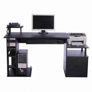 Meuble Pour Bureau : bureau pour ordinateur table meuble pc informatiqu achat vente meuble informatique bureau ~ Teatrodelosmanantiales.com Idées de Décoration