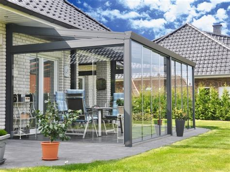 veranda prefabbricata veranda in alluminio e vetro veranda con vetrate
