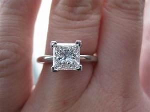 Show me 1.5 to 2 carat Princess Cuts! | 2 carat, The o ...