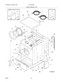 parts for electrolux lgh1642ds0 washer dryer combo