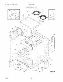 parts for electrolux lgh1642ds0 washer dryer combo With electrolux dryer wiring diagram