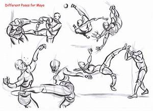 fighting poses for maya09 by AlexBaxtheDarkSide on DeviantArt