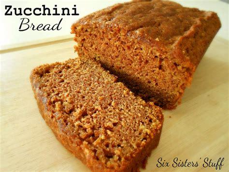 zucchini bread pictures classic zucchini bread six sisters stuff