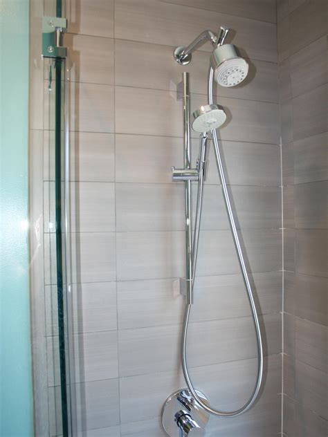 bathroom shower heads choosing bathroom fixtures hgtv