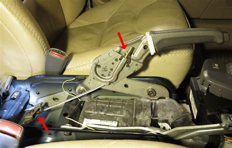 vxc parking brake cable adjustment