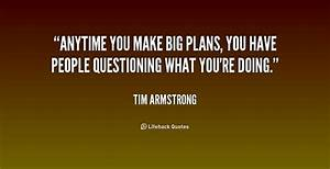 Quotes About Making A Plan  Quotesgram