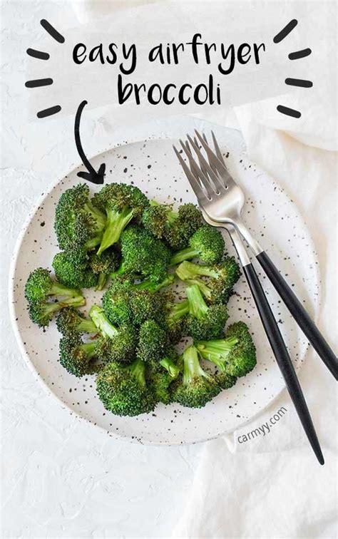 air fryer broccoli easy dinner crowns recipes