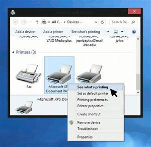 how to clear the printer queue in windows 8 With documents in queue