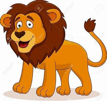 Lion Cartoon Clipart Vector Animals Shutterstock Male