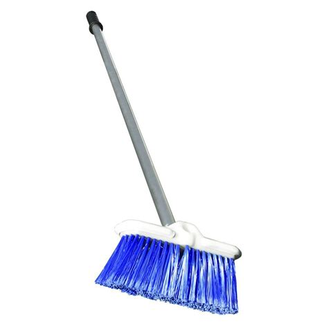 Deck Scrub Brush Menards by Deck Scrub Brush With Handle Br52702 The Home Depot