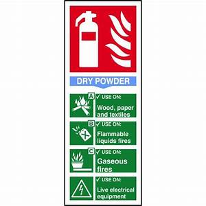 Dry Powder Fire Extinguisher Sign - ESE Direct