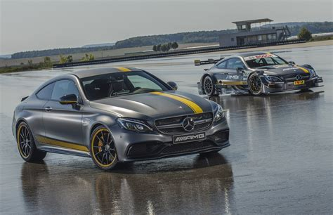 2017 Mercedes Amg C63 Coupe Edition 1 And 2018 C63 Dtm