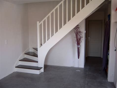 escalier repeint en blanc escalier repeint en blanc maison design deyhouse