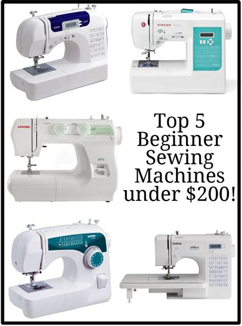 best sewing machines for beginners top 5 best beginner sewing machines peek a boo pages sew something special
