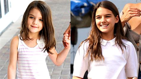 Suri Cruise's Transformation: See Photos Of Her Then & Now ...
